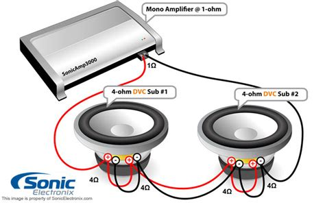 Subwoofer 4 Ohm Wiring by Solved How To Wire An Alpine Subwoofer Type R Fixya