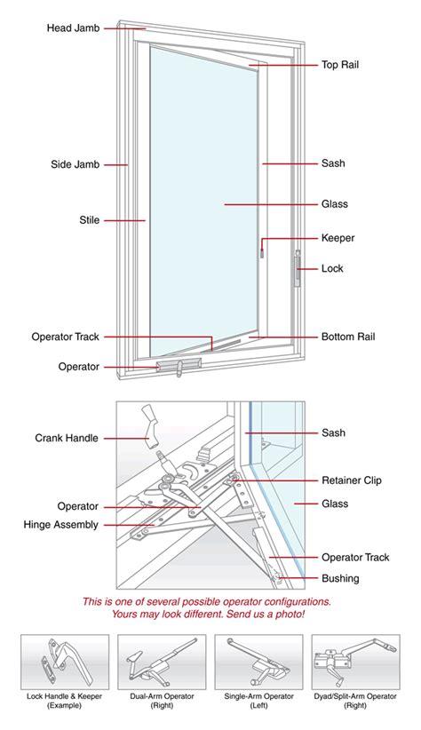 casement window vetter casement window parts