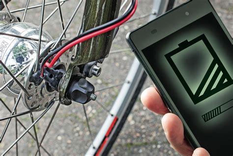 handy am fahrrad smartphone ladeger 228 te am fahrraddynamo c t magazin