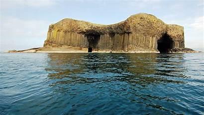 Cave Scotland Fingals Wallpapers Fingal Staffa Places