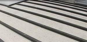 Pose Terrasse Composite Sur Dalle Beton : poser une terrasse composite sur lambourdes composites ~ Carolinahurricanesstore.com Idées de Décoration