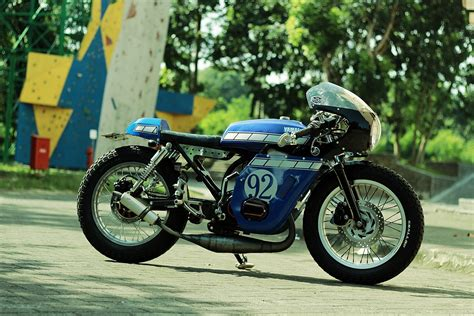 Modif Rx King Cafe Racer by Yamaha Rx King 135 Cafe Racer Bikebound