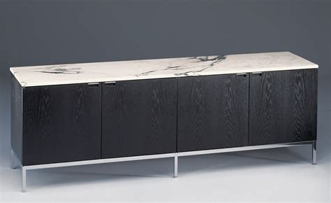 Floor Designer by Florence Knoll 4 Position Credenza With Cabinets