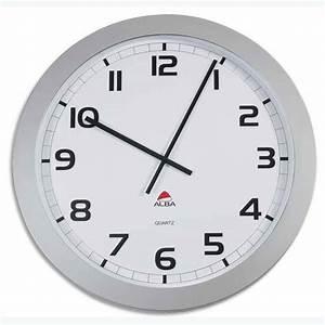 Horloge Murale Grise : horloge murale quartz g ante grise 60 cm horloge murale mural pendule horgiant g ante grand ~ Teatrodelosmanantiales.com Idées de Décoration