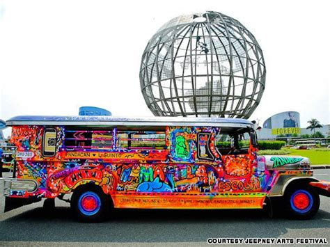 jeepney philippines art philippines 39 famed jeepneys get a makeover cnn travel