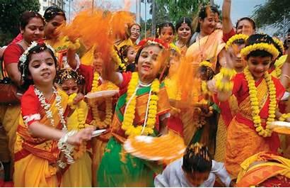 India Holi Festival Locas Fiestas Mundo Mas