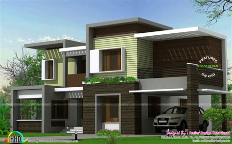 Box Type Contemporary Homes Modern House