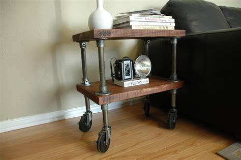end table with wheels piping design trends the design inspirationalist
