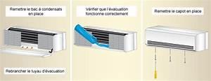 Comment Installer Une Clim Reversible Soi Meme : que faire si un climatiseur coule ooreka ~ Premium-room.com Idées de Décoration
