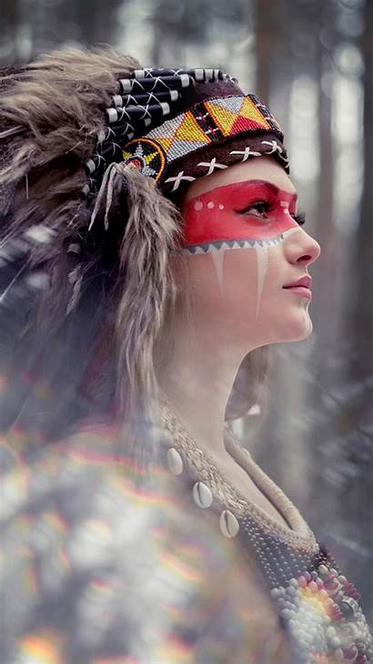 Tribal Beauty Iphone Wallpapers Android Ipad Plus