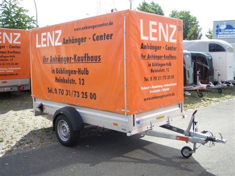 pkw anhänger günstig pkw anh 228 nger g 252 nstig mieten lenz anh 228 nger center