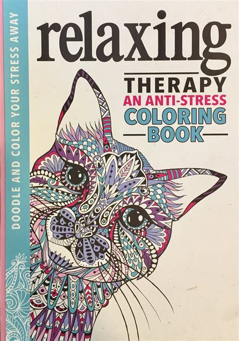 relaxing therapy  anti stress coloring book coloring