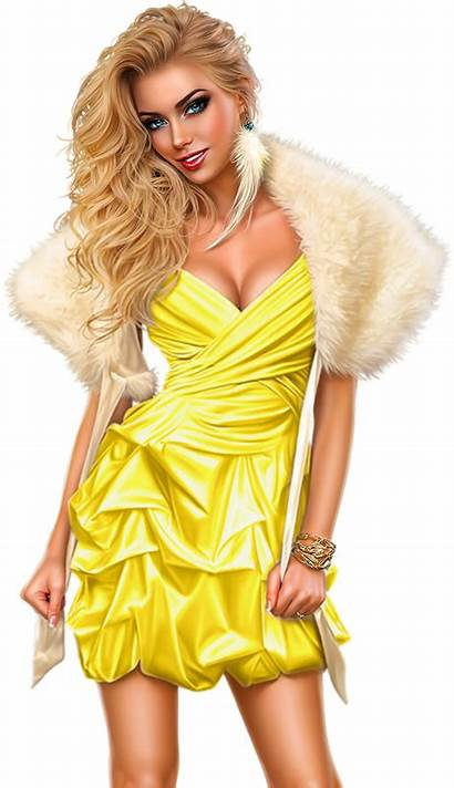 Clipart Female Clothes Clothing Winter Babe Transparent
