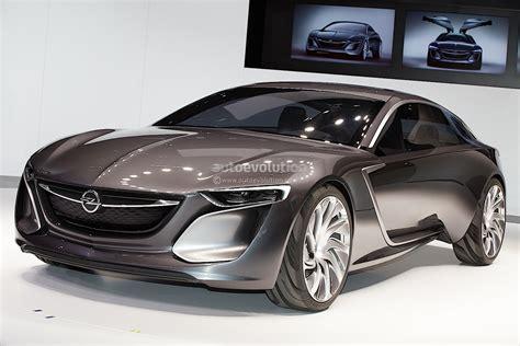 Frankfurt 2018 Opel Monza Concept Revealed Live Photos