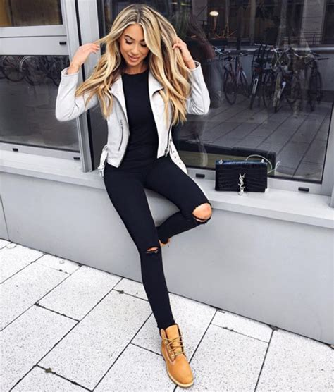 U22b1u025bu0282u026cu0f5eu025bu0196u0196u0105u22b0 | on the u0455tru0454u0454t | Pinterest | Timberland Timberland outfits and Clothes