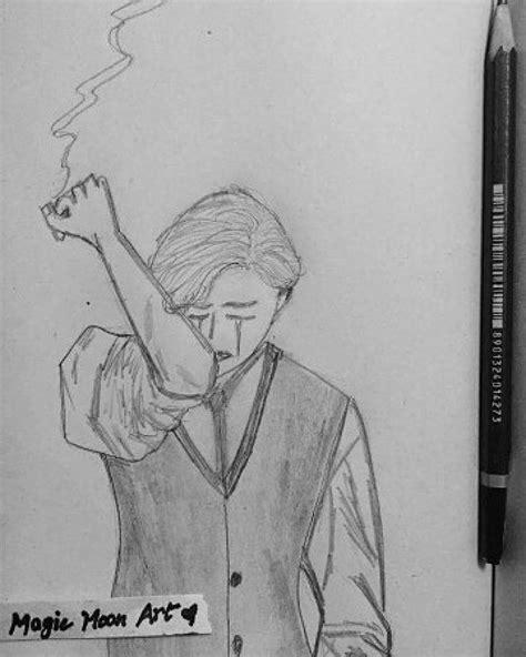 suicidal depressing drawings depressed depression