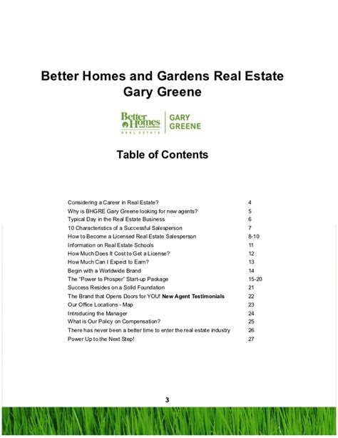all about a career in real estate with better homes and