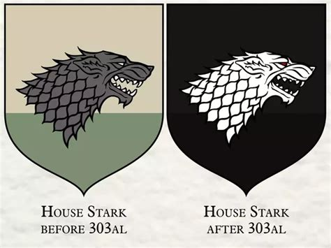 stark colors do you think jon snow will accept the targaryen or stark