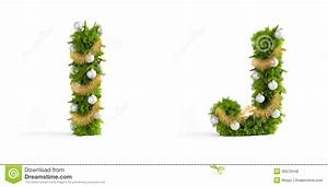Christmas font set royalty free stock photos image 35570448 for Christmas tree letters