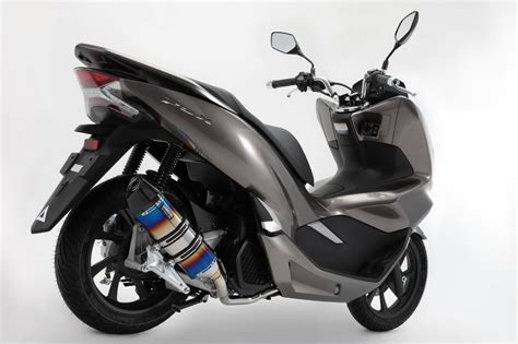 Pcx 2018 Japan by Beams 8 Types Of Exhaust System For The New Pcx 125 Jf81