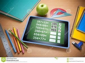 Online Technology Education Learning Stock Image - Image ...