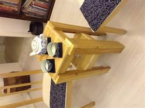 Comment Fabriquer Une Table De Ferme En Bois : comment construire une table de chevet avec du bois de r cup ration palettes pinterest ~ Louise-bijoux.com Idées de Décoration