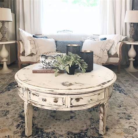furniture unique shabby chic coffee table designs for