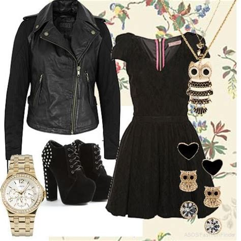 Edgy girly fashion | Womenu0026#39;s Outfits Girly 3 Edgy | school outfits | Pinterest | Girly Fashion ...