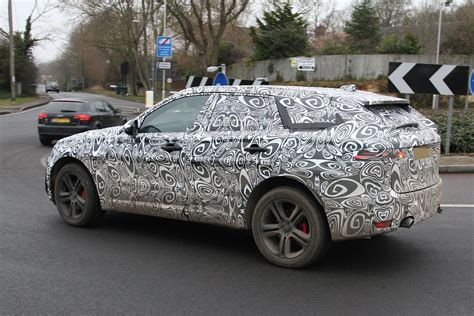 Spyshots 2016 Jaguar Fpace Getting Supercharged 3liter