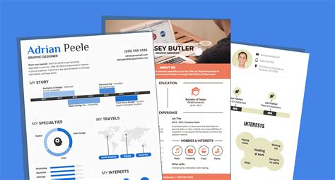 20419 infographic resume template infographic resume template venngage