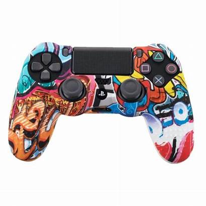 Manette Ps4 Silicone Etui Tn Housse Accueil