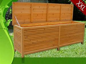 Coffre Rangement Bois : coffre de rangement en bois massif xxl ~ Teatrodelosmanantiales.com Idées de Décoration