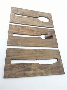 best 20 kitchen wall art ideas on pinterest kitchen art With kitchen cabinets lowes with large knife fork and spoon wall art