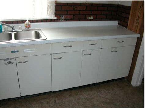 vintage metal cabinets kitchen