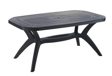 ensemble table et chaise de jardin en resine pas cher stunning table jardin octogonale pvc images awesome