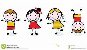 happy kids clipart black and white - Clipground
