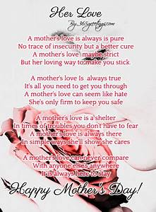 Mothers Day Poems - 365greetings.com