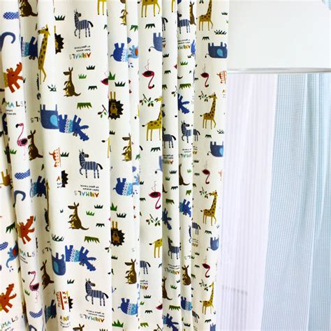 modern print curtains for bedrooms of different panels