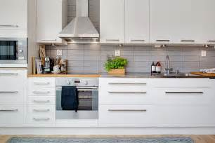 Hampton Bay Shaker Wall Cabinets by Cozy Apartment Decorated In Pure Modern Scandinavian Style