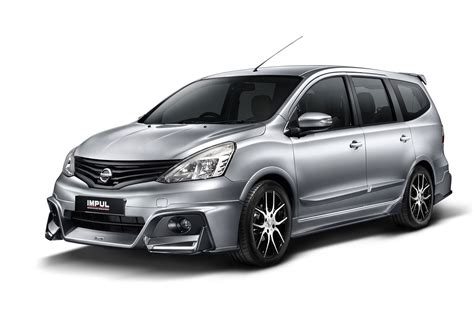 Nissan Livina Backgrounds by Nissan Grand Livina Gets Impul Package Autoworld My