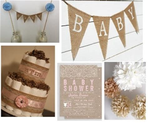 woman cake topper burlap baby shower decorations rustic baby chic