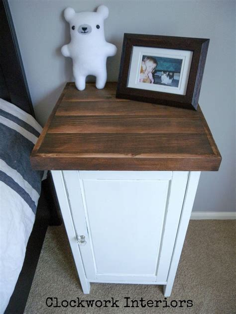 hometalk ikea hack customize  hemnes nightstand