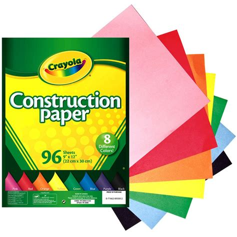 Crayola® Construction Paper, 96 Count