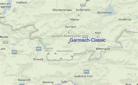 garmisch classic ski resort guide location map garmisch