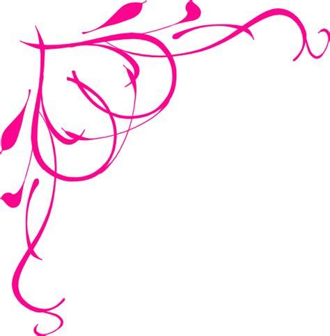 hot pink heart border clip art  clkercom vector clip