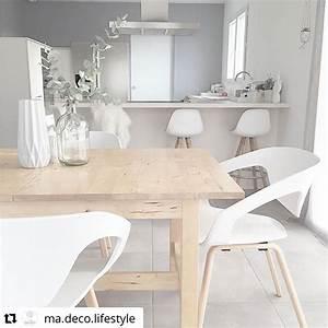 Table Cuisine Scandinave : table et chaise style scandinave ~ Melissatoandfro.com Idées de Décoration