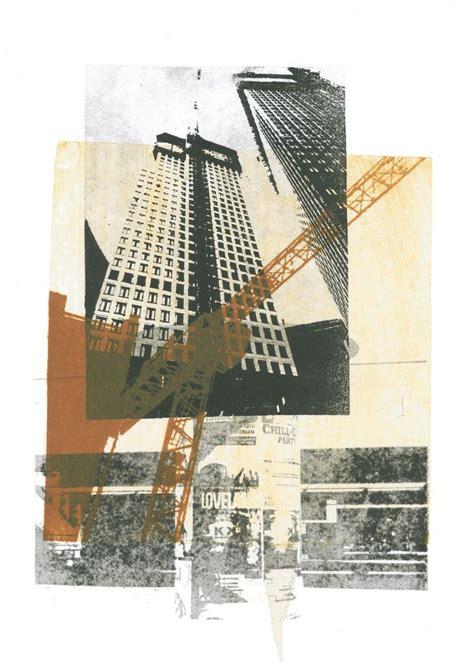 images  printmaking buildings  pinterest