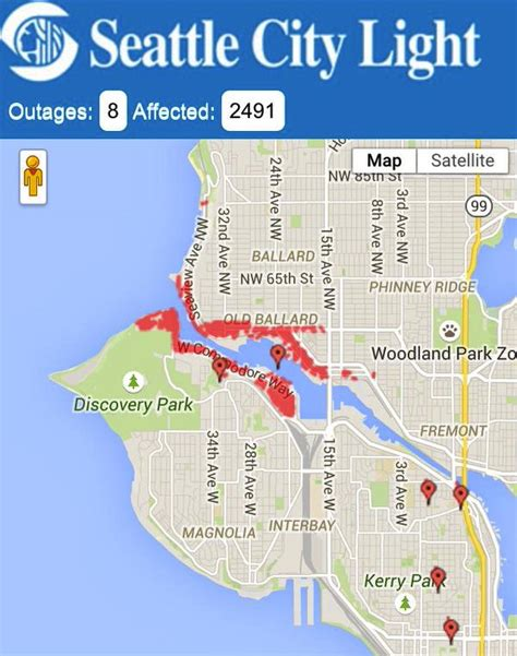 seattle city light explains power outage  night