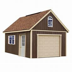 Best Barns Glenwood 12 Ft X 24 Ft Wood Garage Kit