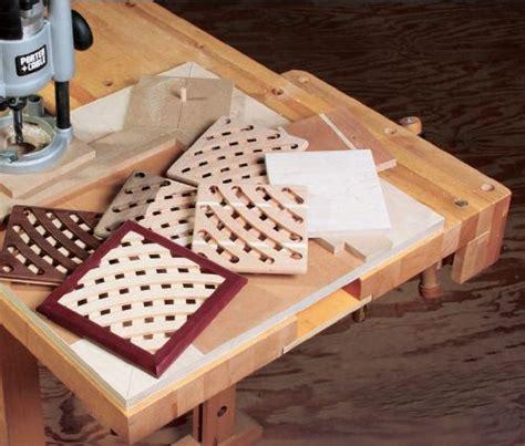 build  trivet   simple trammel jig homemade woodworking plans  patterns